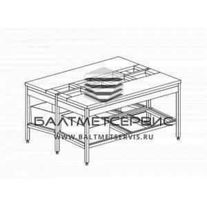 Столы с полипропиленовой столешницей (столы для разделки)