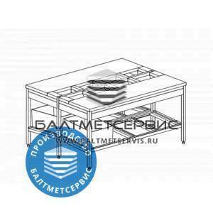 Столы с полипропиленовой столешницей неразборные столы обвалки