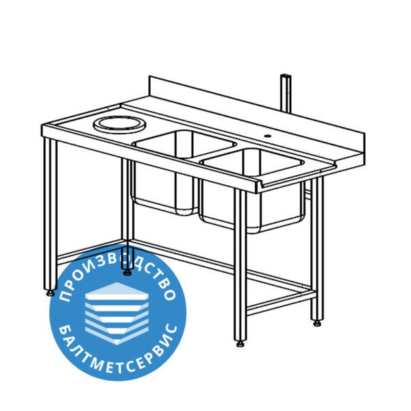 Столы для посудомоечных машин входные